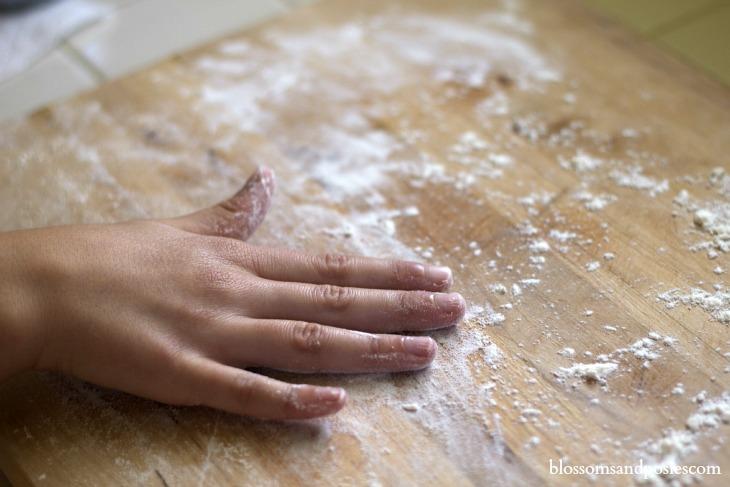 flour_board blossomsandposies